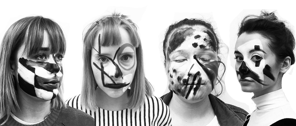 de la warr pavilion young creatives datamoshing facepaint