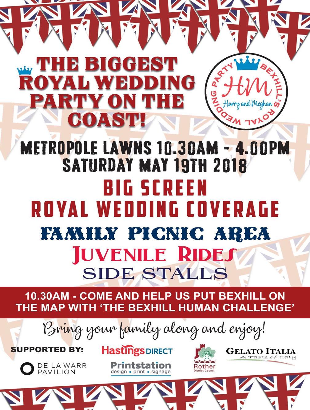 BEXHILL\'S ROYAL WEDDING PARTY - DLWP, The De La Warr Pavilion ...