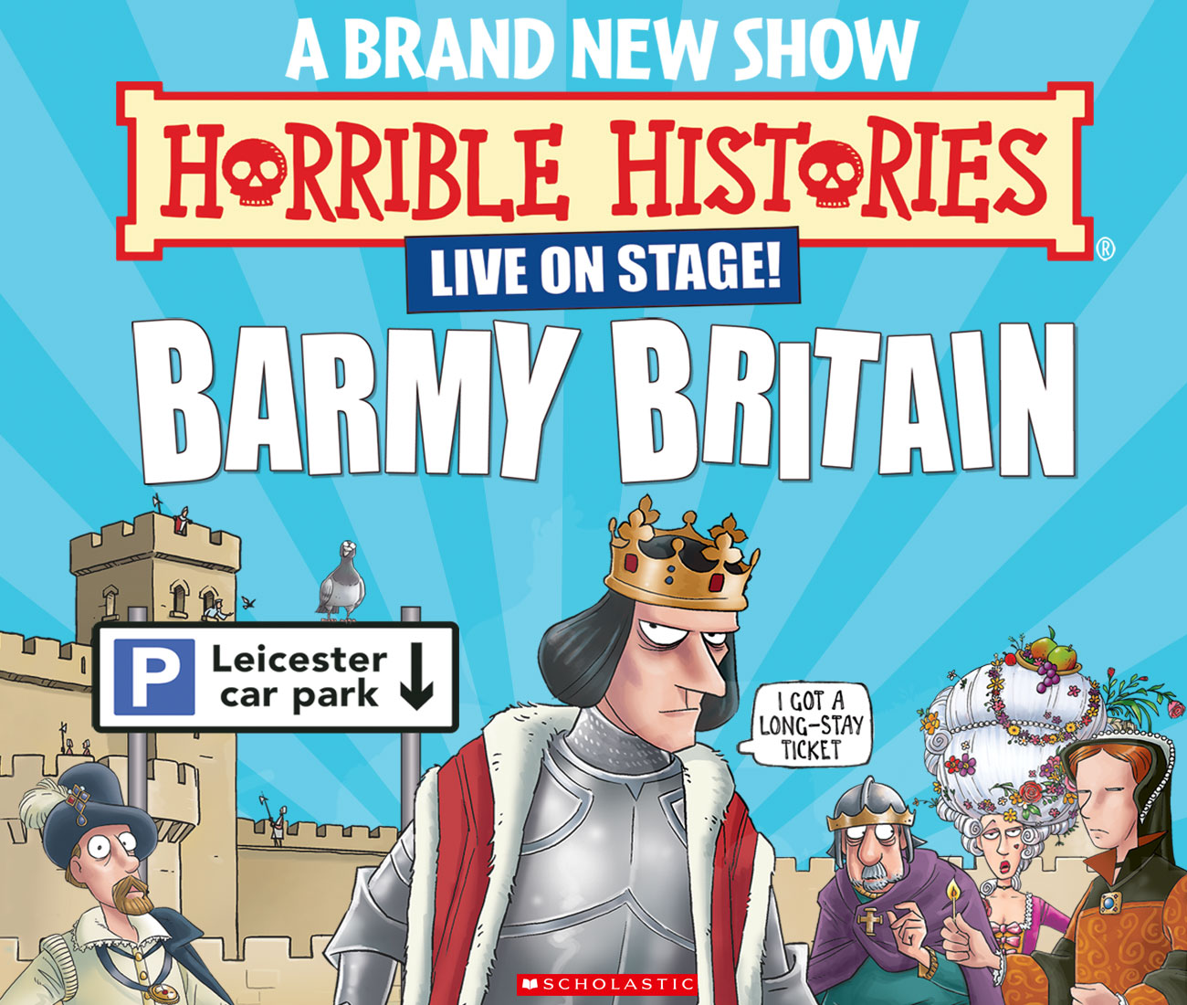 Horrible Histories Barmy Britain Bexhill De La Warr Family