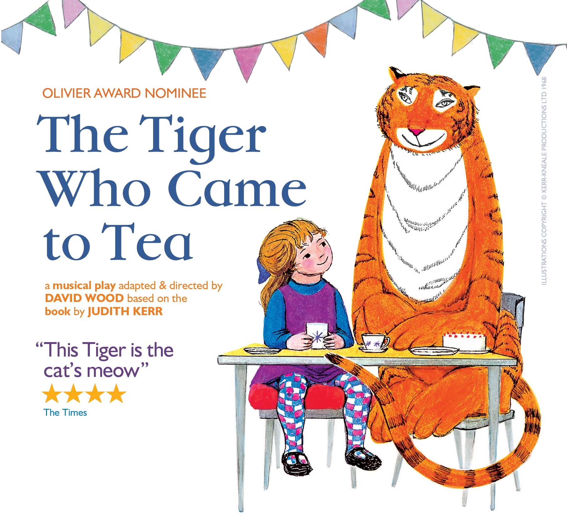 Tiger who came to tea family theatre bexhill