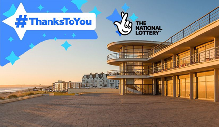 Bexhill DLWP Arts Council England Funding National Lottery Heritage Fund Thanks Development Investment